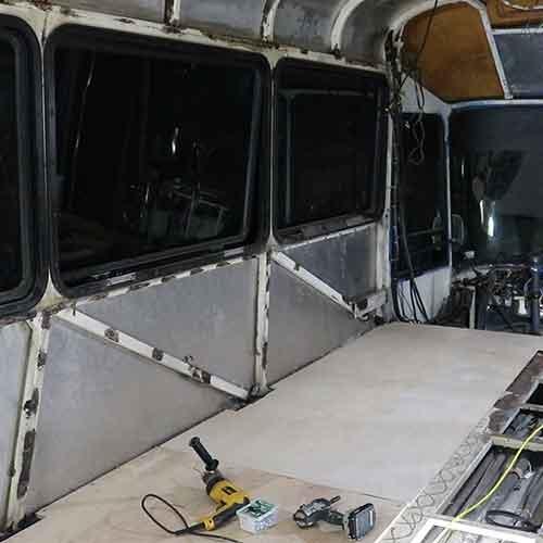 Wanderlust Bus Subfloor Install