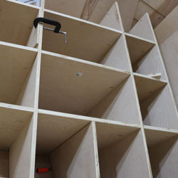 bus closet construction
