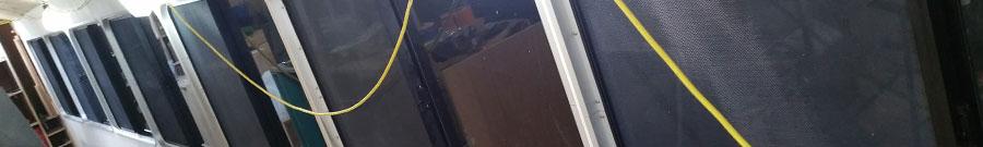 bus window installation