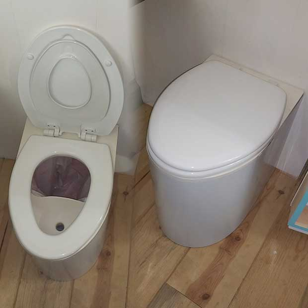 diy composting toilet